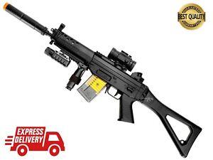 M82 Semi/Fully Automatic AIRSOFT AEG Rifle FREE 1000 BULLDOG BB CQB Backyard Fun
