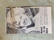 a2q ephemera 1963 article turid feste norway york beauty contest