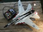 Vintage New Bright toy jet USS Kitty Hawk tested working