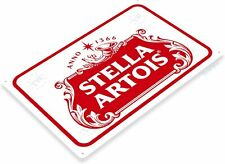 Stella Artois Beer Signs-Window Clings Stickers Decals-NOS Classic Logo