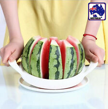 Fruit Slicer Watermelon Melon Cantaloupe Stainless Steel Cutter Tool HKCUT 9504
