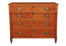 Biedermeier Chest of Drawers in Birdseye Maple