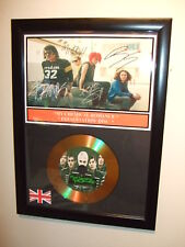 MY CHEMICAL ROMANCE  SIGNED FRAMED GOLD CD  DISC 0