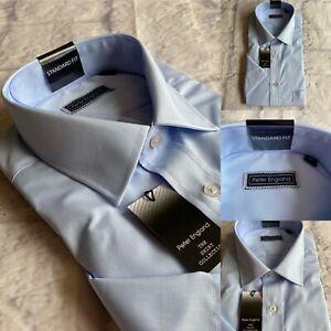 Peter England Half Sleeve Shirt, Non Iron, All Sizes , Light Blue, BNWT