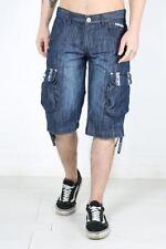 Markenlose Herren-Shorts & -Bermudas aus Denim in normaler Größe