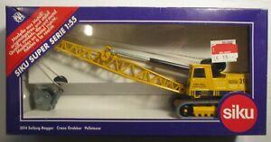 Siku Super Series Crane Grabber #3514 1:55 Diecast Construction Vehicle MIP