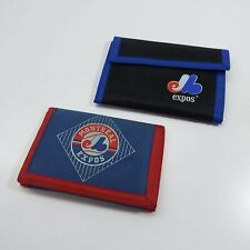 LOT OF 2 WALLET EXPOS MBL BASEBALL MONTREAL (USED) LOOK DESCRIPTION (F2300)