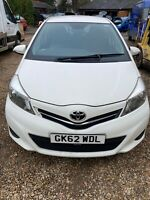 2012 TOYOTA YARIS 14CC SPARES OR REPAIR