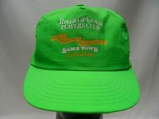 SAM'S TOWN - RIVER OF GOLD PLAYERS CLUB - ADJUSTABLE SNAPBACK BALL CAP HAT!