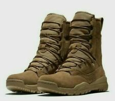 """NIKE SFB FIELD 2 8"""" Coyote LEATHER TACTICAL COMBAT BOOTS AQ1202-900 Military"""