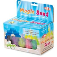 MAGIC SAND - 12688 MAKE YOUR OWN UNDERWATER KINGDOM 2 FIGURES INCLUDED KIDS FUN
