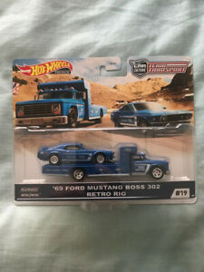 Hot Wheels Team Transport '69 Ford Mustang Boss 302 - Retro Rig -  Car Culture