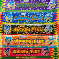 Wicked Fizz Chews Assorted 60 Halloween Party Favors Candy Buffet Bulk Lollies