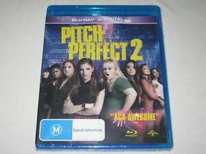 Pitch Perfect 2 - Rebel Wilson - Brand New & Sealed - Region B - Blu Ray