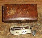 CIVIL WAR OR PRE CIVIL WAR ERA WIEGAND & SNOWDEN BLEEDER FLEAM/IN CASE/RARE!Other Medical Antiques - 1210