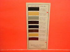 1931 BUICK MODELS 56 56C 56S 57 64 CONVERTIBLE ROADSTER COUPE SEDAN PAINT CHIPS