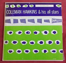 "COLEMAN HAWKINS & HIS ALL STARS ORIG US JAZZTONE SOCIETY 25CM 10"""