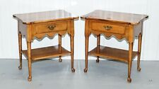 ETHAN ALLEN MAPLE ONE DRAWER SIDE TABLE CIRCA 1776 COLLECTION