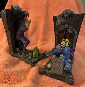 Cain & Abel Bookends Cold-Cast Porcelain Set/DC Comics/Vertigo/833of1200 No Box