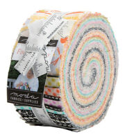 """Moda, Fine and Sunny, Jelly Roll, 2.5"""" Fabric Quilting Strips, 18170JR, J13"""