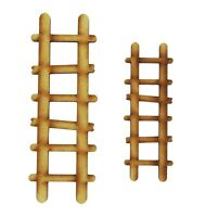 Fairy Door Accessories Ladders Wooden Fairy Ladders Fairy Garden Accessories