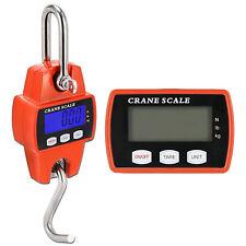 Mini Portable Crane Scale 300kg 01kg Lcd Digital Electronic Hook Hanging F1