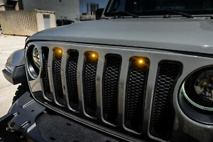 Pre-Runner Style LED Grill Kit for Jeep Wrangler JL Oracle