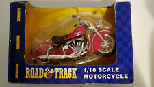 Nos Vintage Indian Chief Motorcycle 1/18 scale Road & Track Maisto Collictible