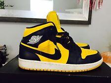 Nike Air Jordan I Retro 1 Sz 10 Yellow 3 4 5 6 7 8 11 12 13 Chicago Bred Banned