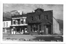 Real Photo Postcard Arctic Brotherhood Hall in Skagway, Alaska~103658