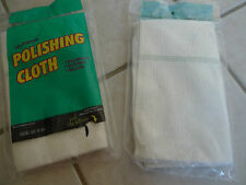 "LOT OF 2 - All Purpose Polishing Waxing Dusting Cloth 20"" x 24"" Made in Italy"