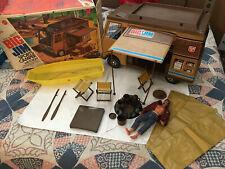 Big Jim SPORTS CAMPER & BOAT w/ Box 1972 Vintage Mattel