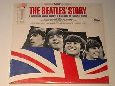 THE BEATLES' STORY, STBO 2222 CAPITOL SEALED LATE 70'S PRESS
