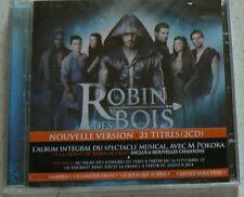 NE RENONCEZ JAMAIS - ROBIN DES BOIS - M POKORA (CDx2)  21 Titres  NEUF SCELLE