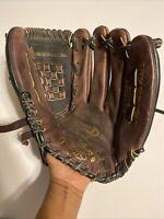 Rawlings Full Grain Leather Baseball RHT ML125BF Dark Brown/Black Glove