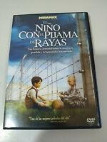 El niño con Pigiama de Strisce DVD + Extra Spagnolo English Francais Regione 2