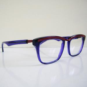 Caroline Abram Nathan Eyeglasses Purple Frame 51[]17 161 Lunettes Paris NO CASE