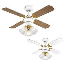 Traditional Designer Ceiling Fan Light Fitting Elegant Lounge Lighting Home Lamp