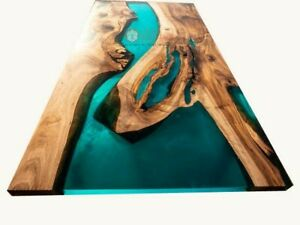 River Table, Epoxy resin Table, epoxy resin rustic Table Acacia Wooden Decors