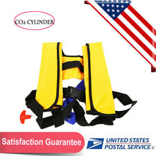 Automatic Inflatable Life Jacket Pfd Adult Fishing Vest Water Swimming Survival