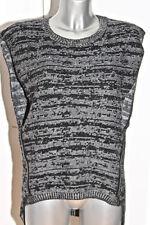 joli pull sans manches en laine mérinos angora COP COPINE modèle buenos taille L