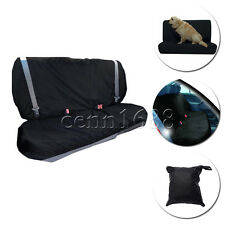 Black Water Resistant pet Rear Car Seat Protector Nylon Cover Base/Back of Seat