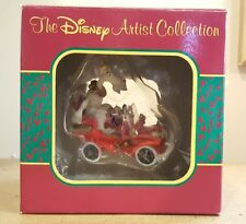 RARE Disney Artist Collection Mr Toad's wild ride Ornament Park Exclusive SIGNED