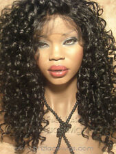 CURLY LACE FRONT WIG, SYNTHETIC LACE FRONT WIG, KELLY ROWLAND, CELEBRITY STYLE