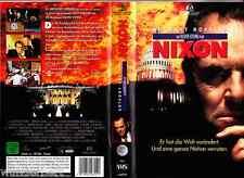"""VHS - """" NIXON - Der Untergang eines Präsidenten """" (1995) - Anthony Hopkins"""