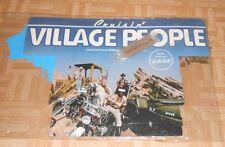Village People Cruisin' Original 3D Display Poster Cardboard Vintage 32x22