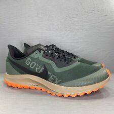 Nike Air Zoom Pegasus 36 Trail Gore-Tex Green Men's Sz 13 BV7762-300 NWB No Lid