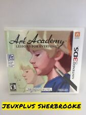 Art Academy: Lessons for Everyone (Nintendo 3DS, 2012) (COMPLETE IN BOX)