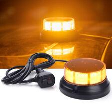 12V Magnetic Flash Strobe Beacon Light Emergency Caution for Car Truck Snow Plow
