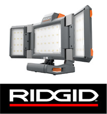 RIDGID GEN5X 18v 120v HYBRID FOLDING PANEL JOBSITE WORK LIGHT R8694221B